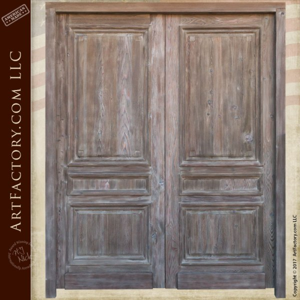 Exterior Double Entry Doors | Custom Solid Wood Doors