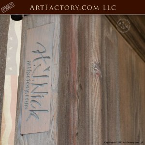 custom wooden double doors