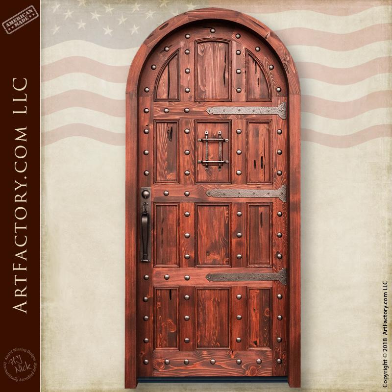 Solid Wood Castle Door