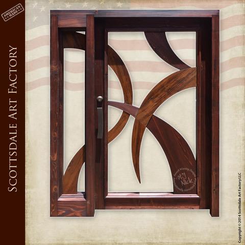 Contemporary Craftsman Doors