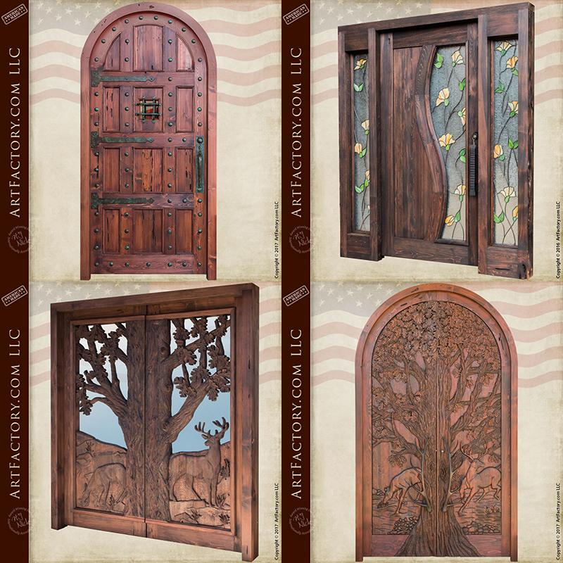 Custom Solid Wood Doors