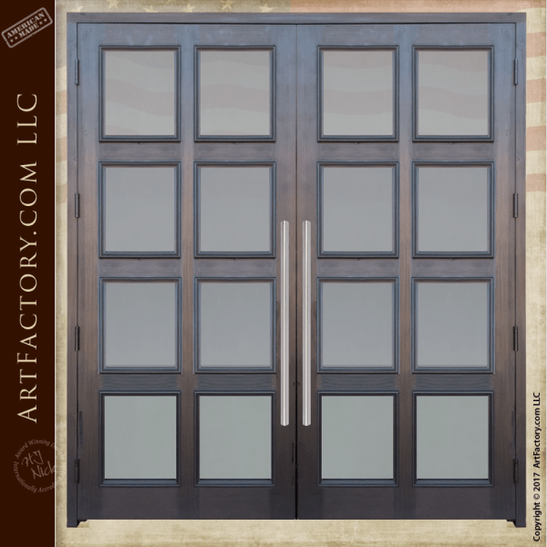 French entrance doors