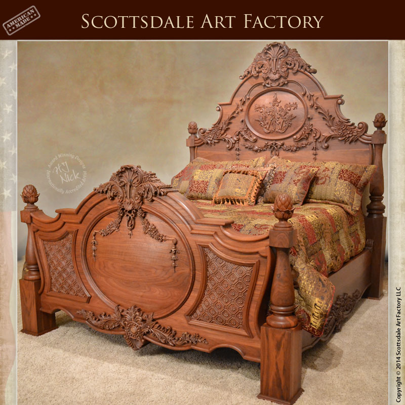 bed-hand-carved-fb1408