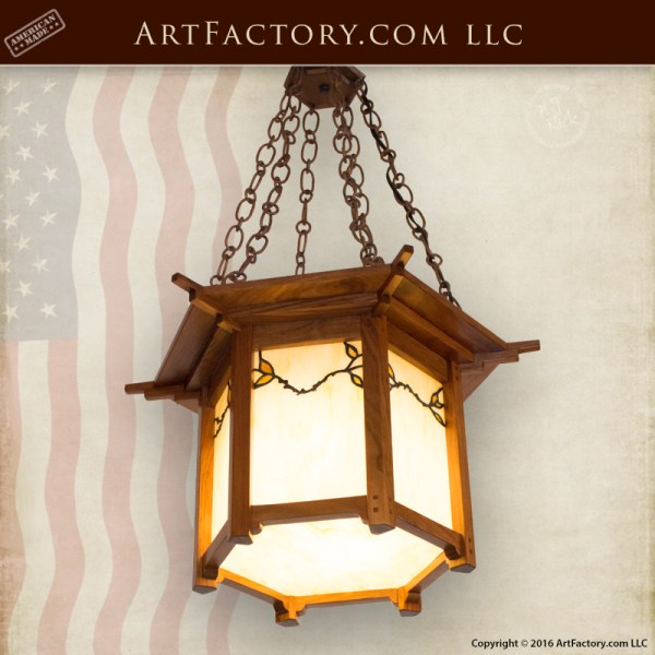 craftsman style lighting. Stained Glass Craftsman Chandelier Style Lighting I