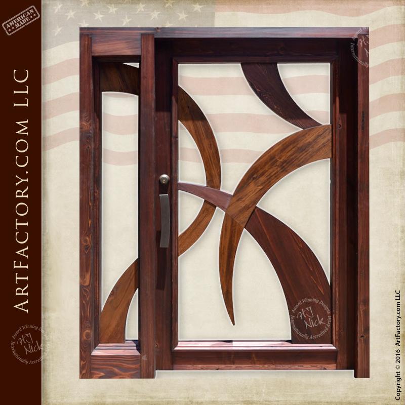Modern Art Style Door