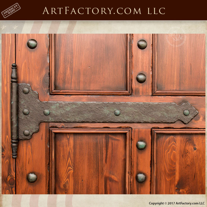 Delicieux Custom Iron Strap Hinges Custom Iron Strap Hinges