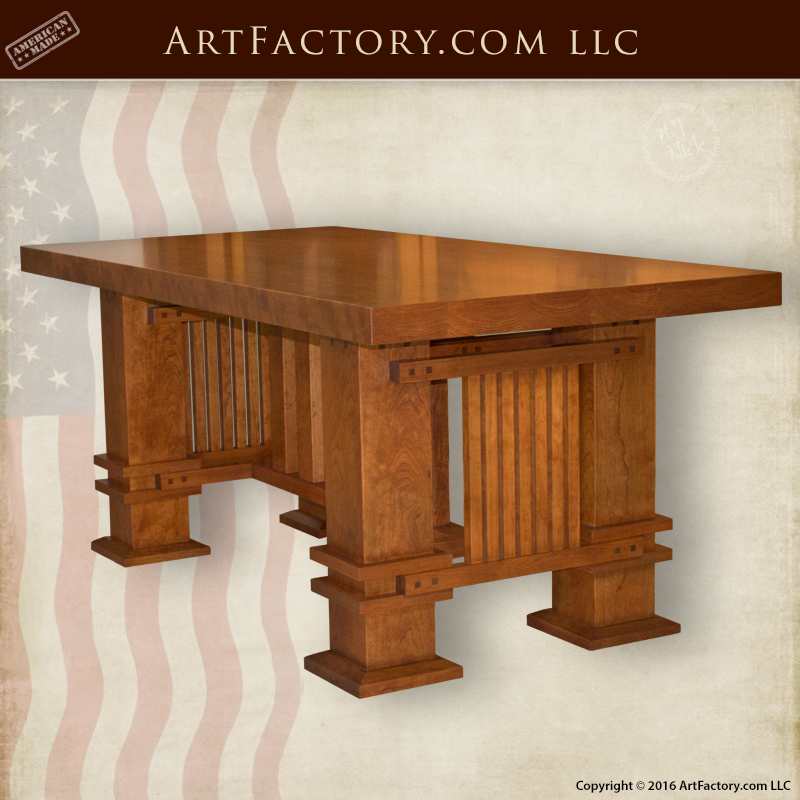 Custom Craftsman Style Table Custom Craftsman Style Table