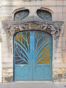 Huot House door