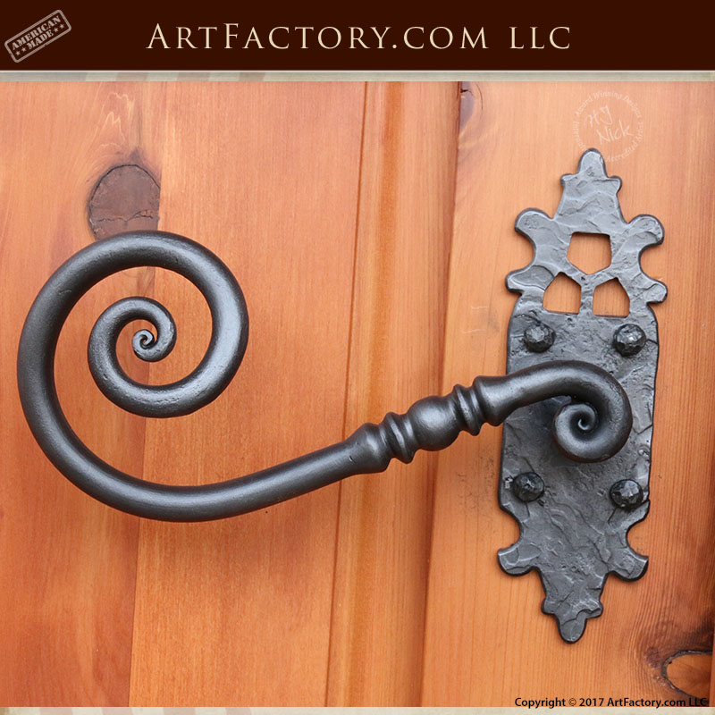 French style lever handle