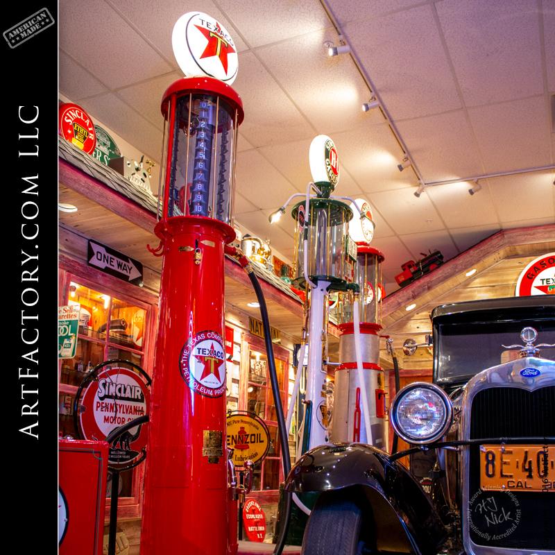 retro shop gas pump