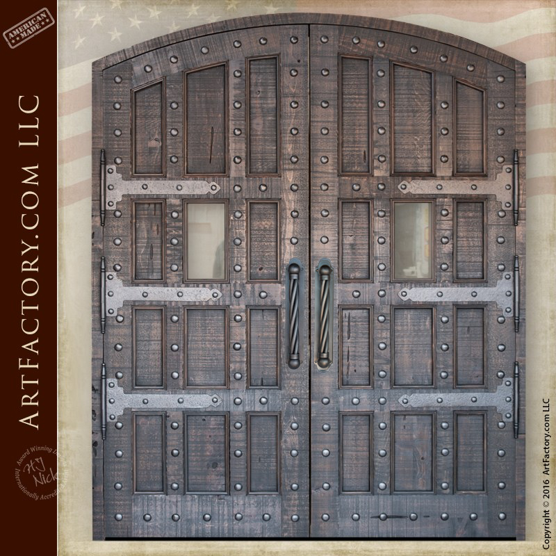 Gothic Grand Entrance Doors