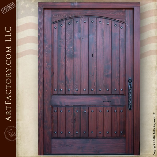 Vertical Groove Panel Door
