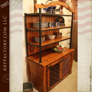 Western Style kitchen hutch