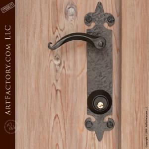 custom arched wood door