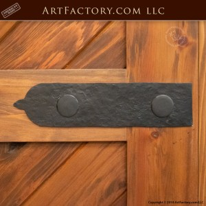 custom decorative hinge strap