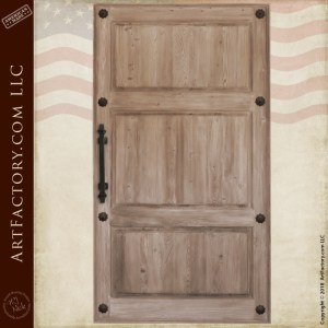 Custom Solid Wood Door