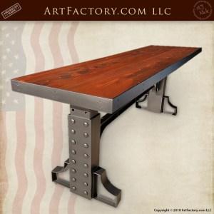 custom adjustable height table