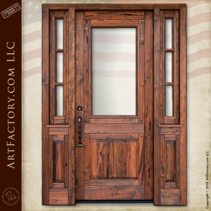 handmade craftsman door