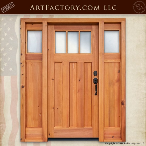 craftsman front entrance