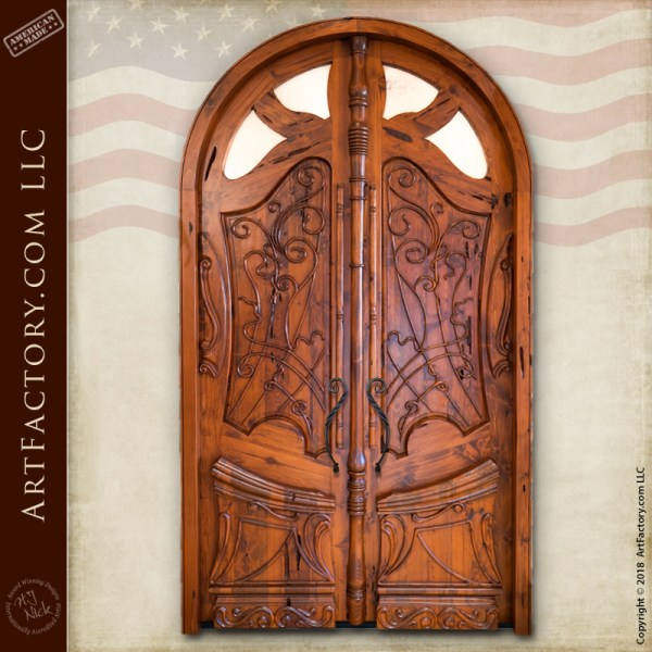 Art Nouveau Door Design Inspired By French Architect