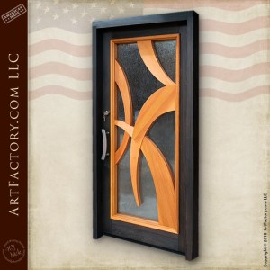 modern Art Deco door