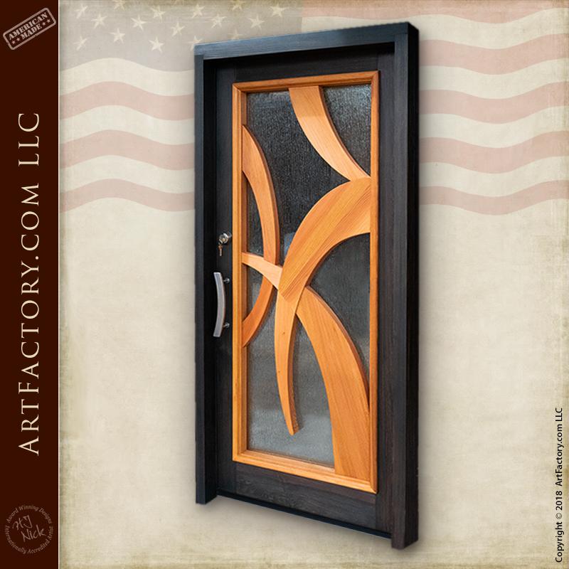 modern Art Deco door