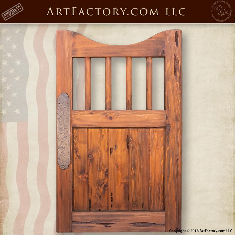 custom swinging saloon door