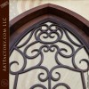 cathedral top security door