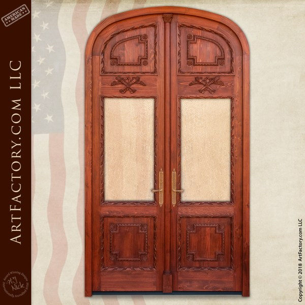 Victorian double doors