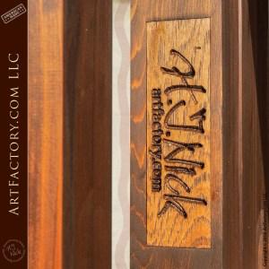 Rustic Wooden Portal Door