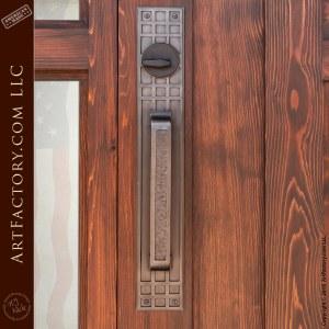 Custom Wood Door with Sidelights