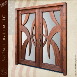 Art Deco Double Doors