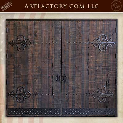 custom matching garage doors