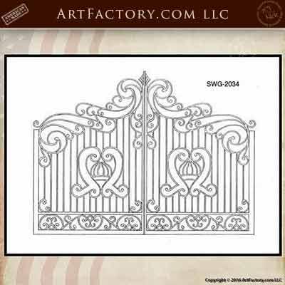 gate design drawings