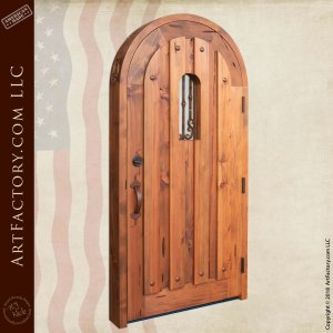 Custom Arched Door