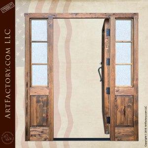custom colonial grand entrance door