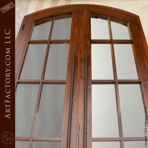 rustic long door pulls