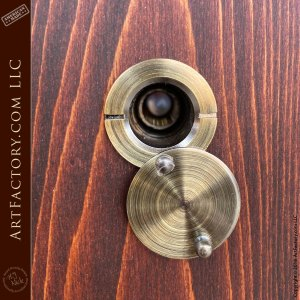 peep hole with cover