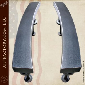 Modern Art Deco Interior Door Handles