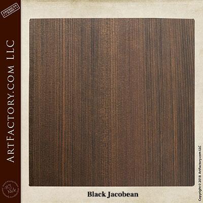 black jacobean sample