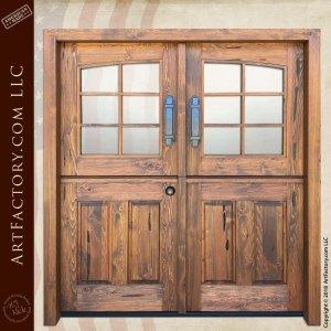 Custom Double Dutch Doors