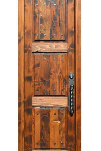 Custom Wooden Entry Door F?nis Castle 15th - 2255AT
