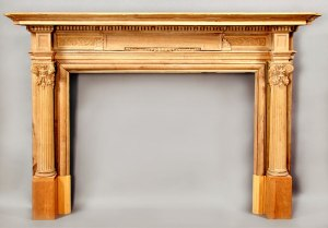 Fire Place Mantle - Designs From The Historical Record- FPM01100