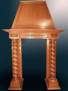Fire Place Mantle - Designs From The Historical Record- FPM01103