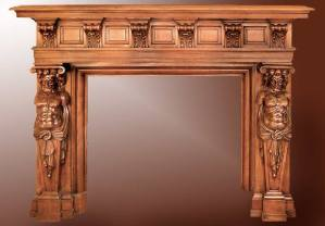 Fire Place Mantel - Designs From The Historical Record- FPM01110