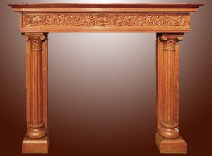 Fire Place Mantle - Designs From The Historical Record- FPM01111