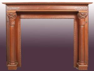 Fire Place Mantle - Designs From The Historical Record- FPM01116