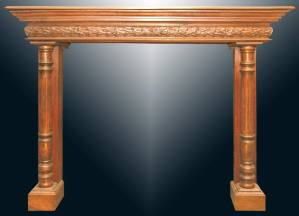 Fire Place Mantle - Designs From The Historical Record-FPM01114