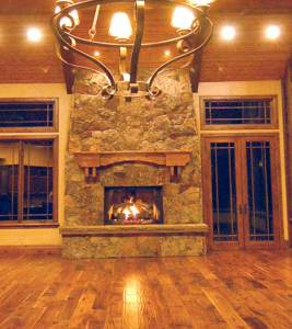 Fireplace mantle FPM01124