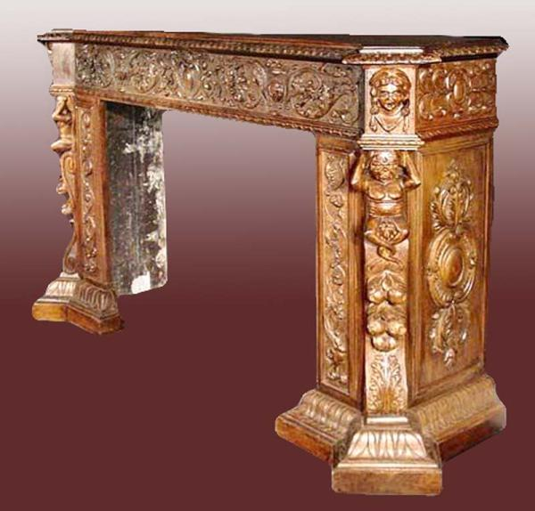 Fireplace Mantle - From Historical Record - FPM206